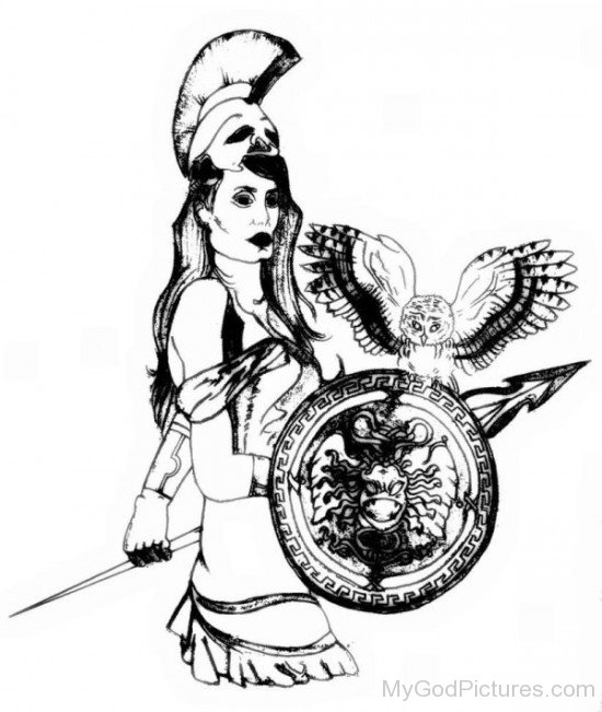 Photo Of Goddess Athena-rg517