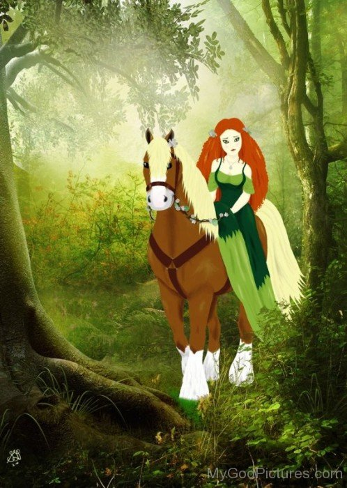Photo Of Goddess Epona-fd514