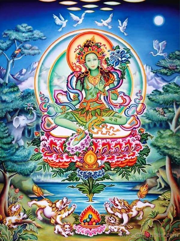 Green Tara 3: God Pictures