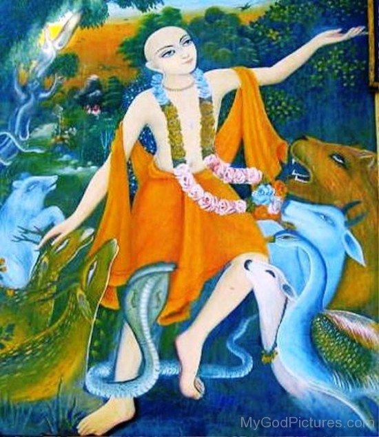 Picture Of Chaitanya Mahaprabhu-fd724