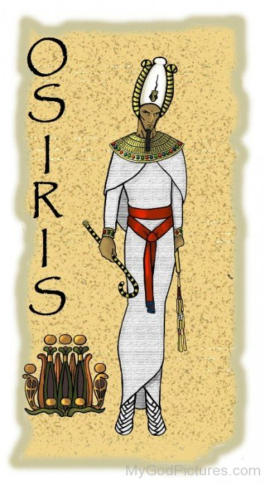 Picture Of God Osiris-re331