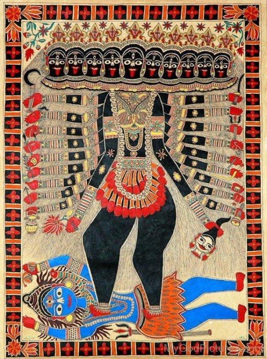Picture Of Goddess Mahakali-gm818