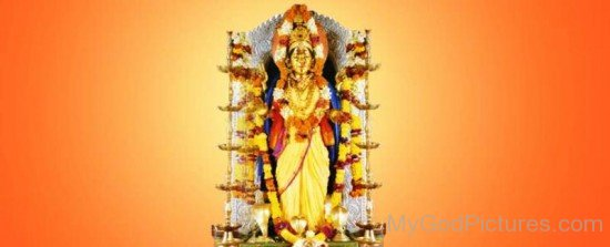 Picture Of Goddess Shantadurga-wq14