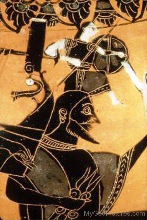 Portrait Of Athena And Zeus-rg519