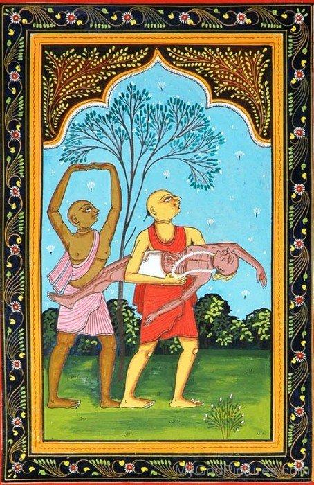 Portrait Of Chaitanya Mahaprabhu-fd725
