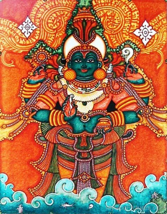 Portrait Of Dhanvantari-yu215