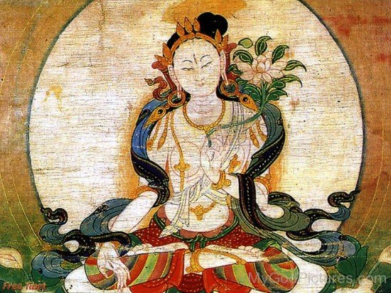 Portrait Of Goddess Tara-gb3430