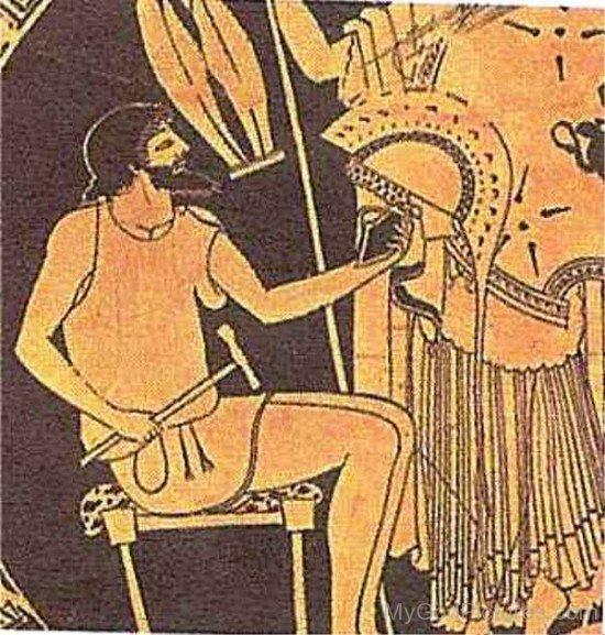 Portrait Of Hephaestus-UM917