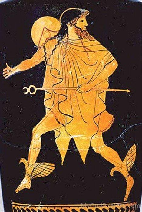 Portrait Of Hermes-yb612