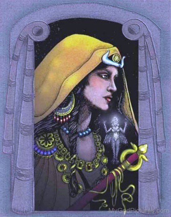 Portrait Of Inanna-yt614