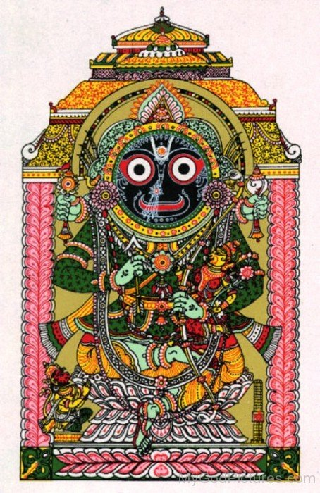 Portrait Of Jagannath