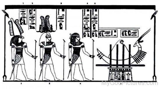 Ptah,Socharis And Osiris-rb520