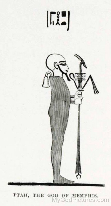 Ptah,The God Of Memphis-rb521