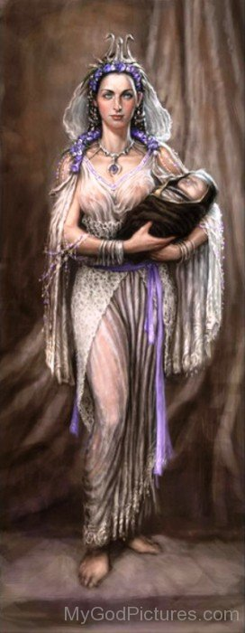 Rhea And Zeus-uj305