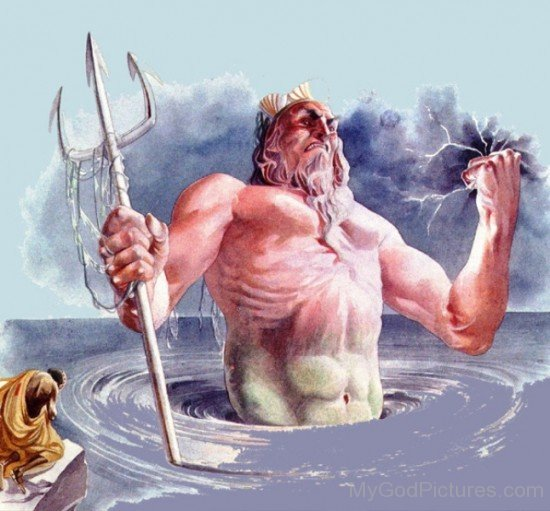 Roman God Neptune-mu721
