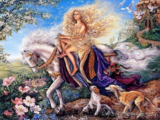 Roman Goddess Epona-fd516