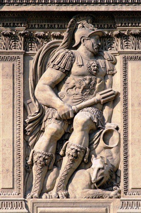 Sculpture Of God Mars-yt819
