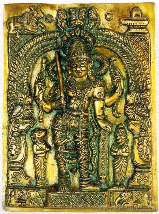 Sculpture Of God Virabhadra-uk806