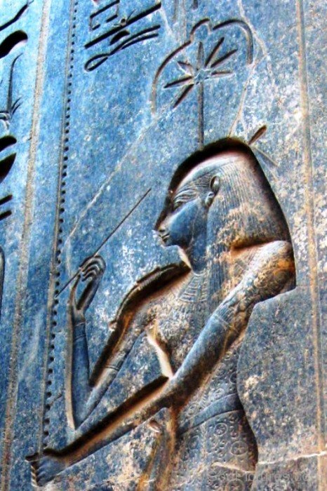 Sculpture Of Goddess Seshat-hg307