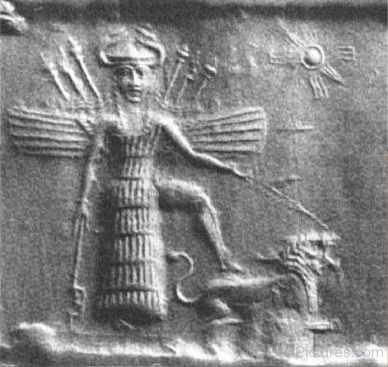 Sculpture Of Inanna-yt616
