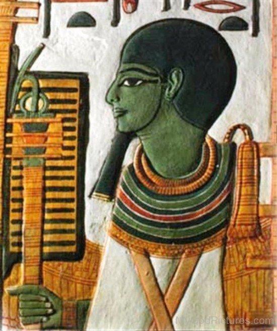 Sculpture Of Ptah-rb523