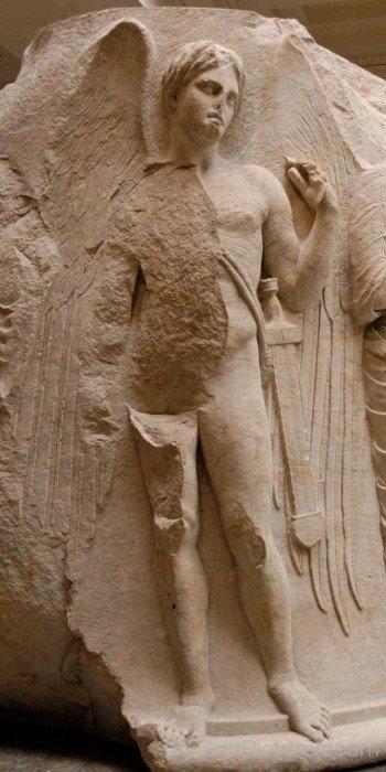 Sculpture Of Thanatos