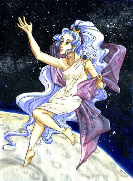 Selene Goddess Picture-as113