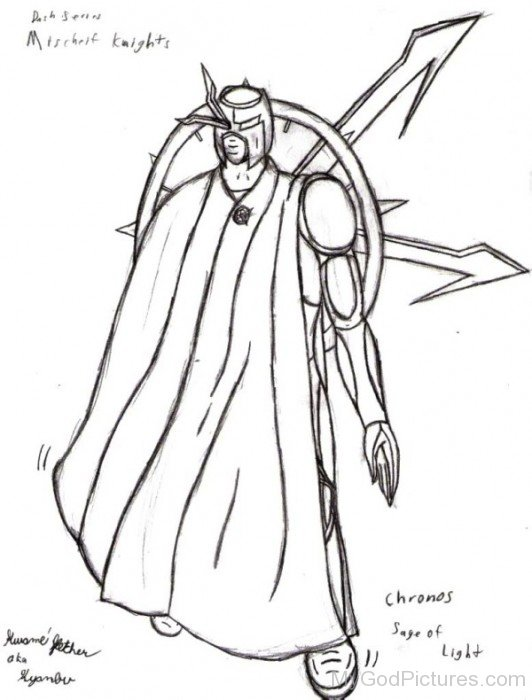 Sketch Of Chronos