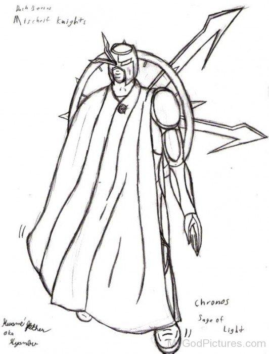 Sketch Of Chronos-by515