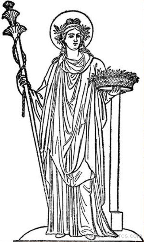 Goddess Hestia - God Pictures