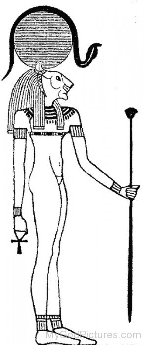 Sketch Of Sekhmet-tb522