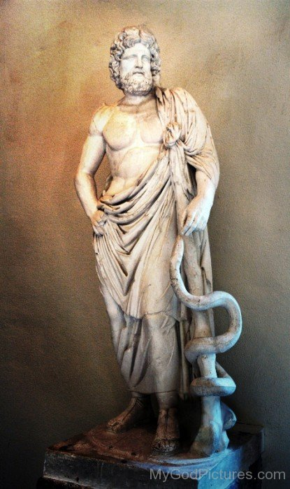 Statue Of Asclepius-tb610