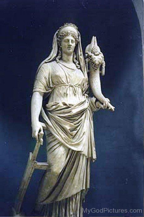 Statue Of Ceres-bm909