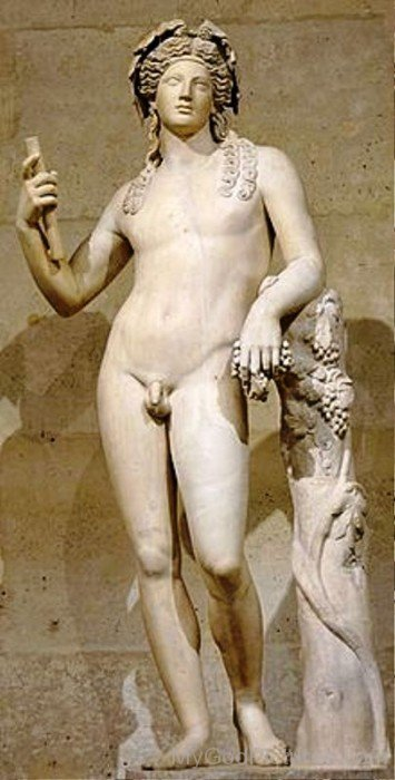 Statue Of Dionysus