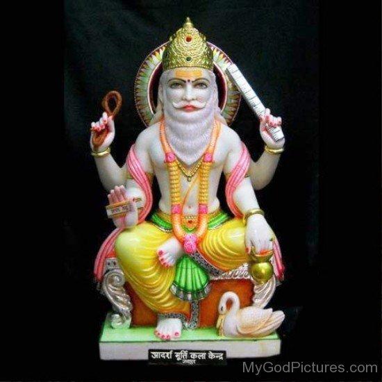 Statue Of Lord Vishvakarma-mv411
