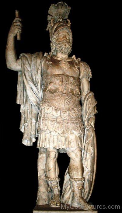 Statue Of Mars-yt820
