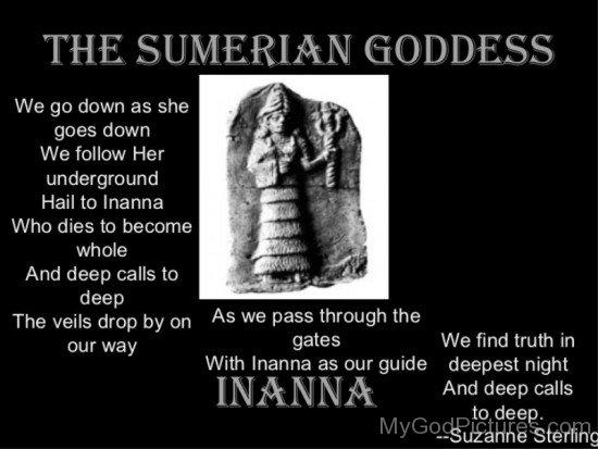 The Sumerian Goddess-yt618