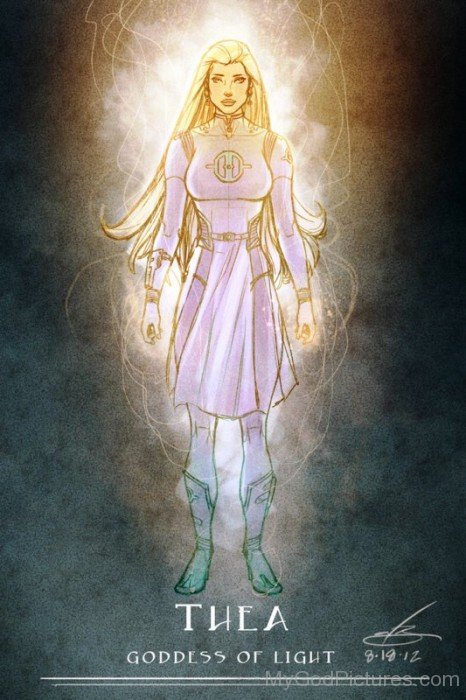 Theia Goddess Of Light-mu74