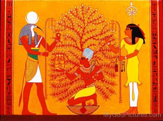Thoth And Seshat-yb520