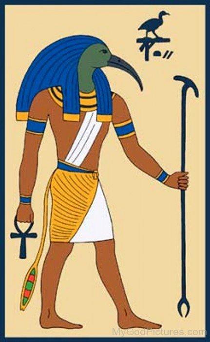 Thoth God Image-yb522