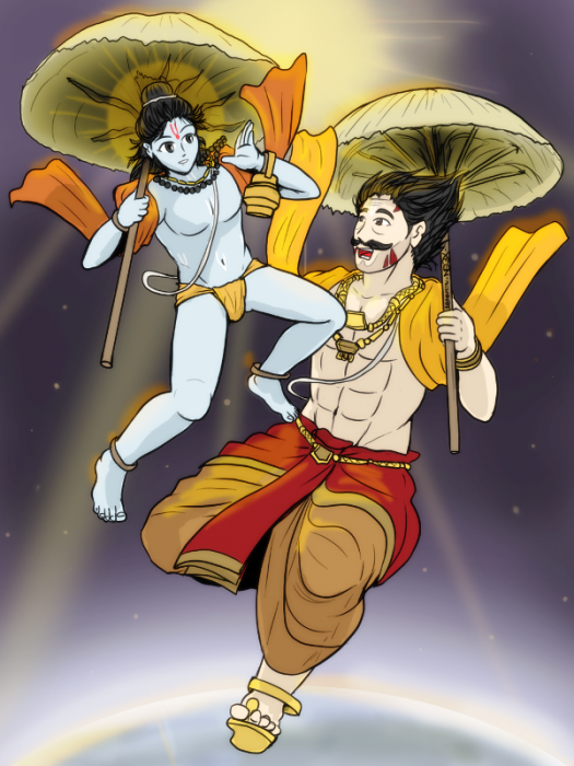 Vamana And Mahabali-bg308