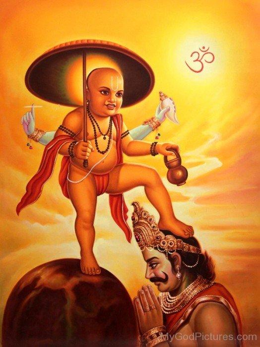 Vamana God Image-bg309