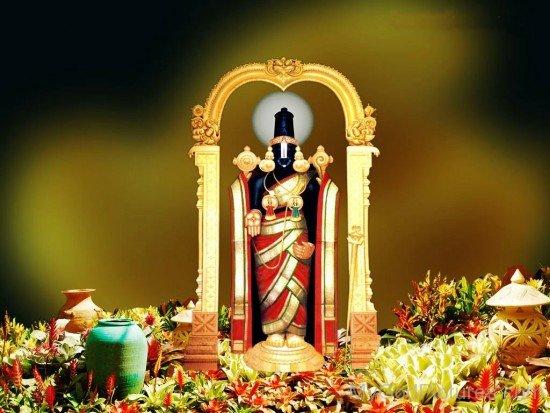 Venkateswara God Image-fd326