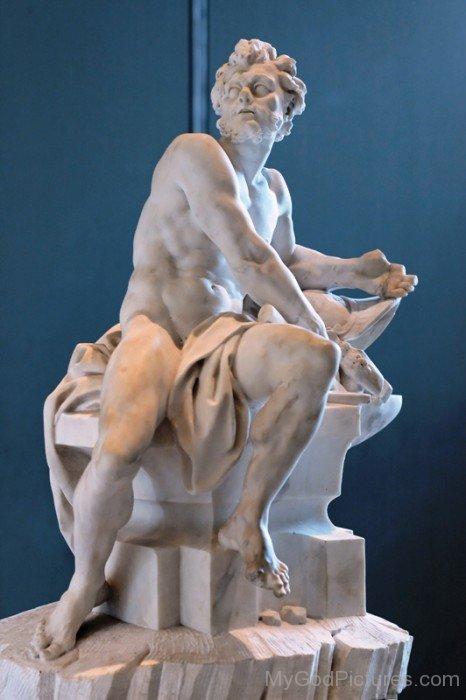 White Statue Of Hephaestus-UM920
