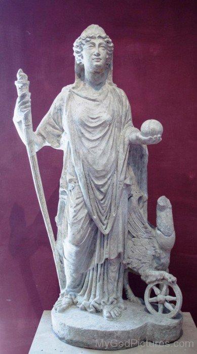 White Statue Of Nemesis-qw217