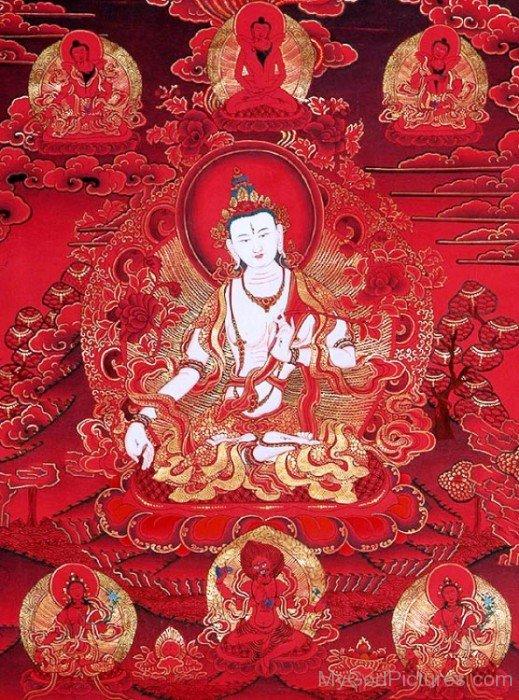 White Tara Goddess-gb3439