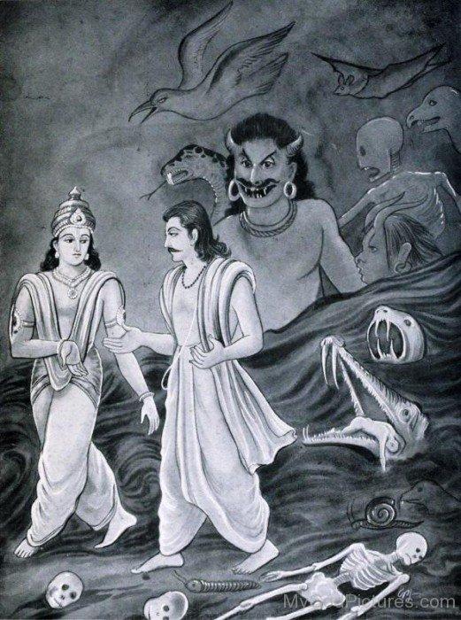 Yudhishthira In Hell-vc13