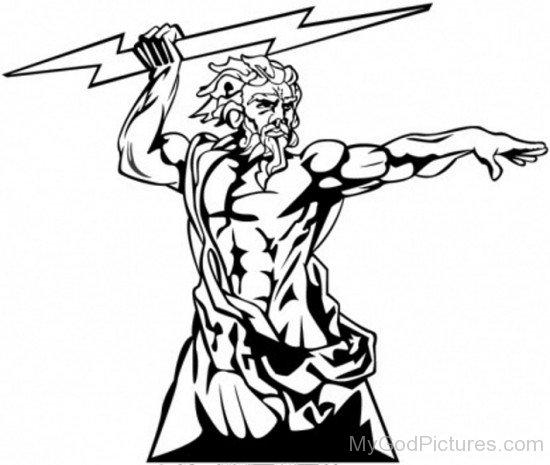 Zeus God Image-tb615