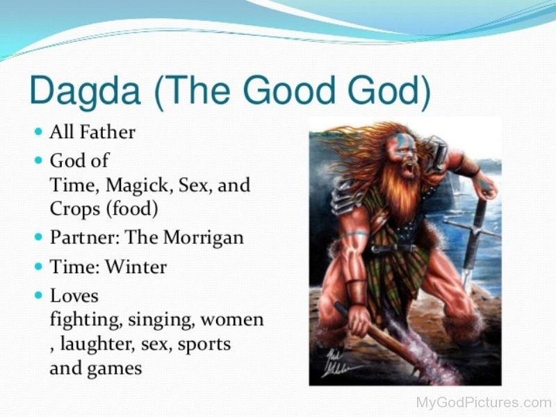 Celtic God Dagda