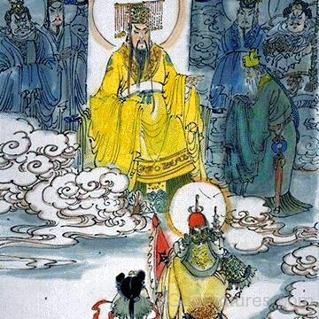 Painting Of Jade Emperor And His Ministers-rbu716